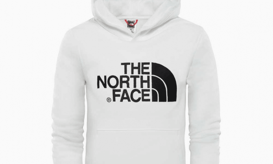 The North Face logo hoodie