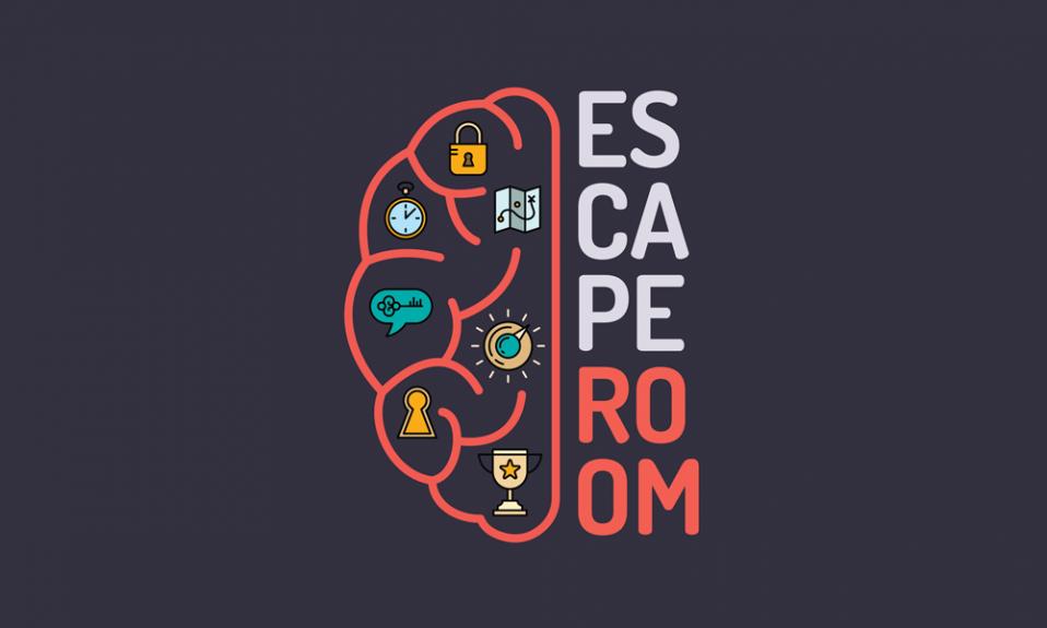 Logotipo da sala de fuga
