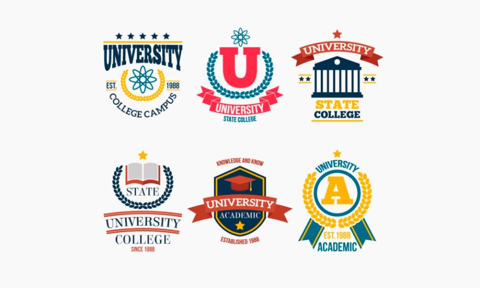 Logotipos da faculdade