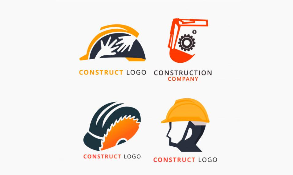 Logotipos de construção