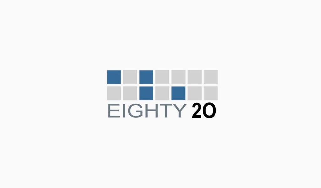 Eighty 20 logo