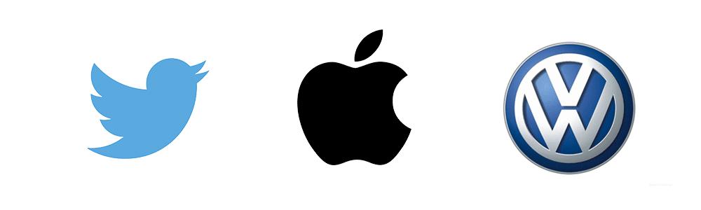 Logotipos com símbolos