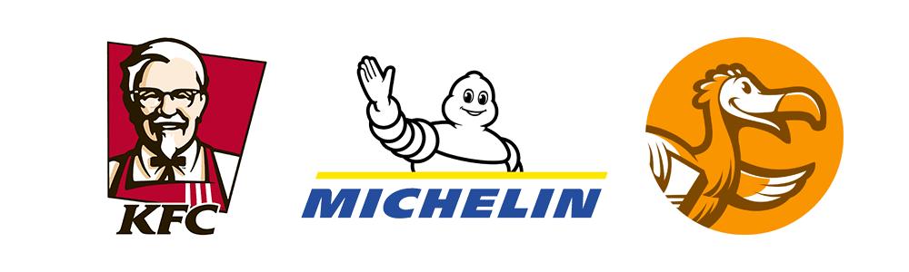 Logotipos com caráter