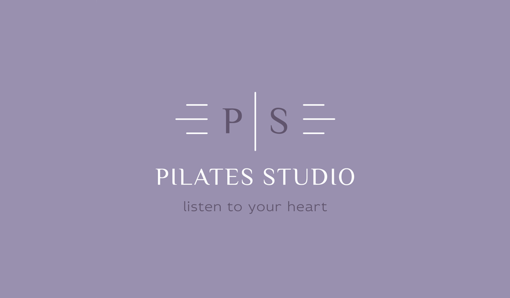 Logotipo da Monogram Ps moderno