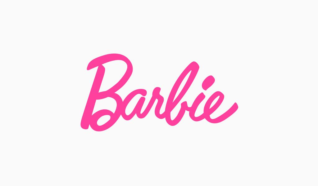 Logotipo da Barbie