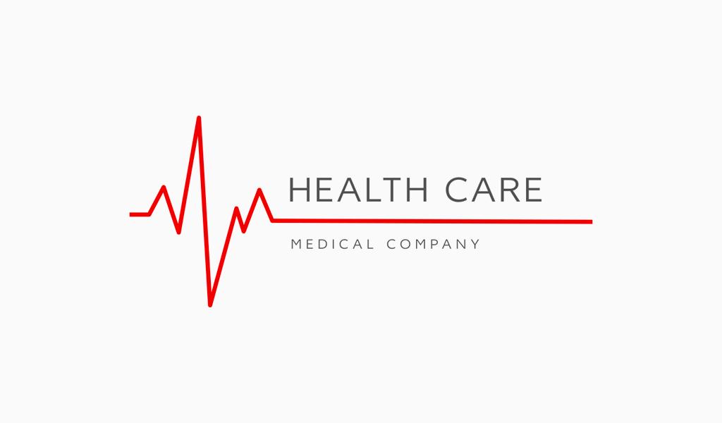 Logotipo da linha Heartbeat
