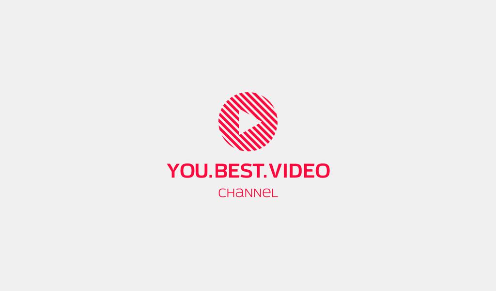 Logotipo do botão de reprodução vermelho