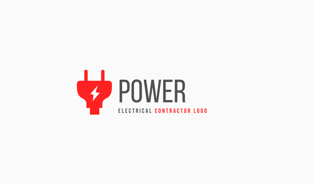 Logotipo do plugue elétrico