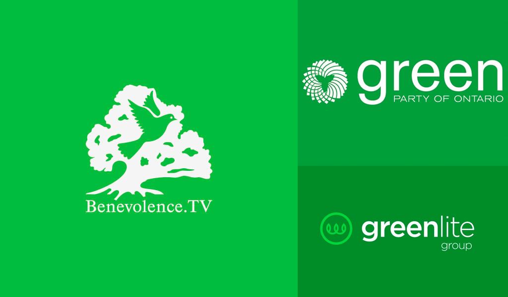 Logotipos de cor verde 1
