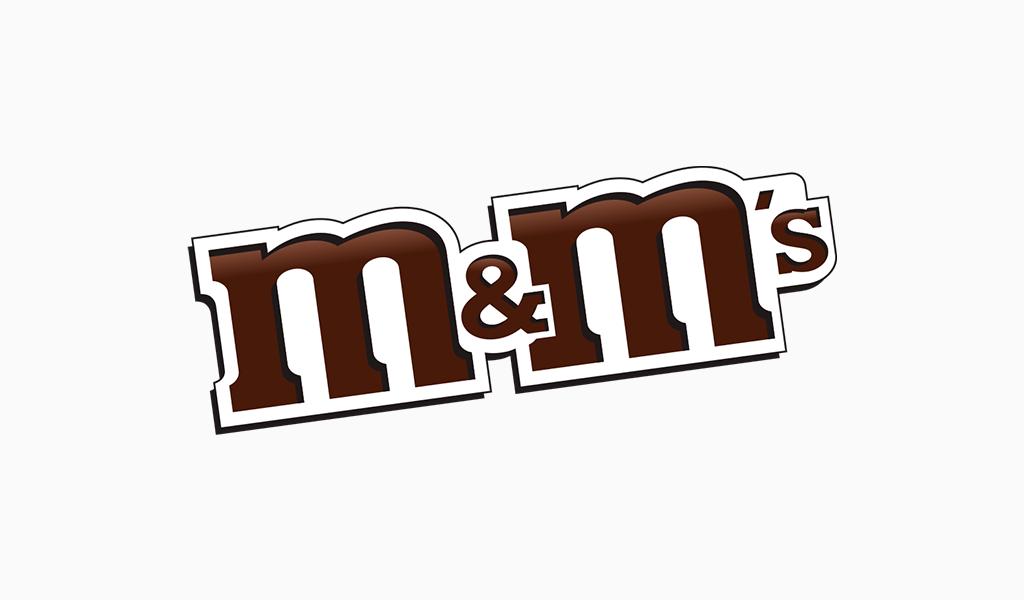 Logotipo da M & Ms