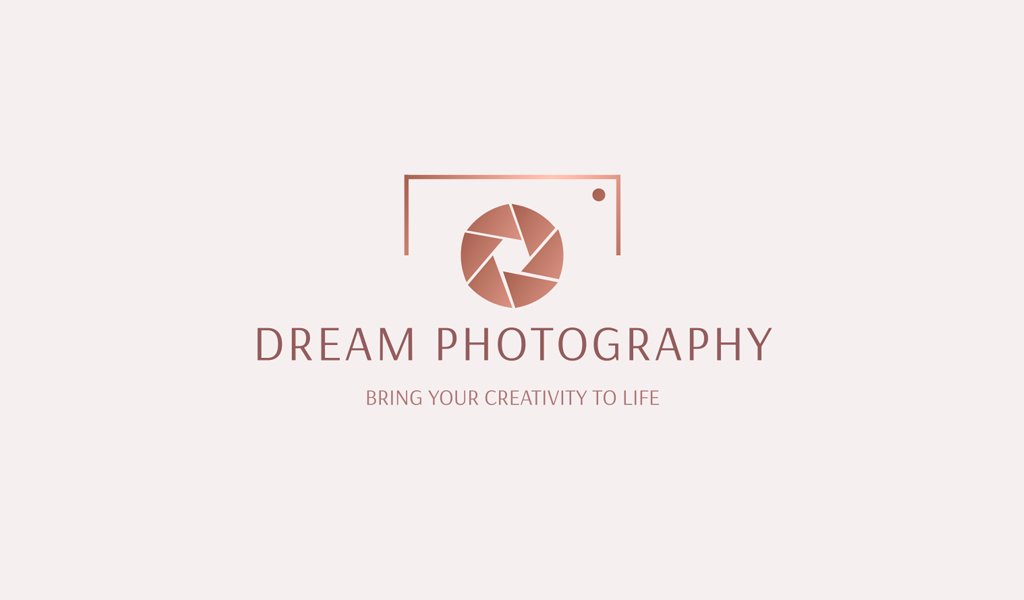 Logotipo do gradiente da câmera