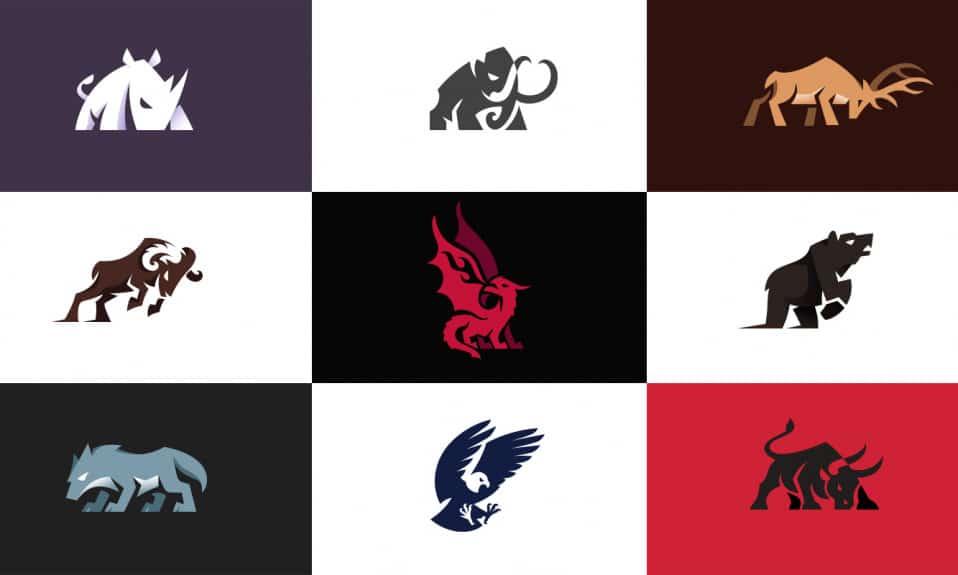 logotipos de animais