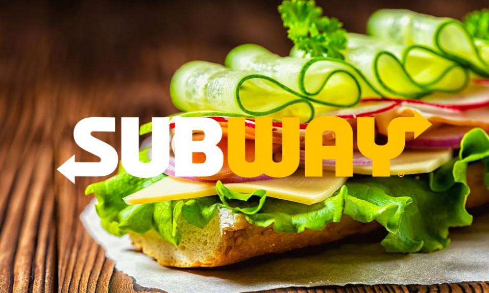 Subway logo with sub