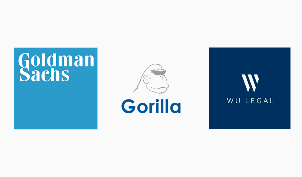 Logolar Gorilla Technologies, Goldman Sachs, Wu Legal